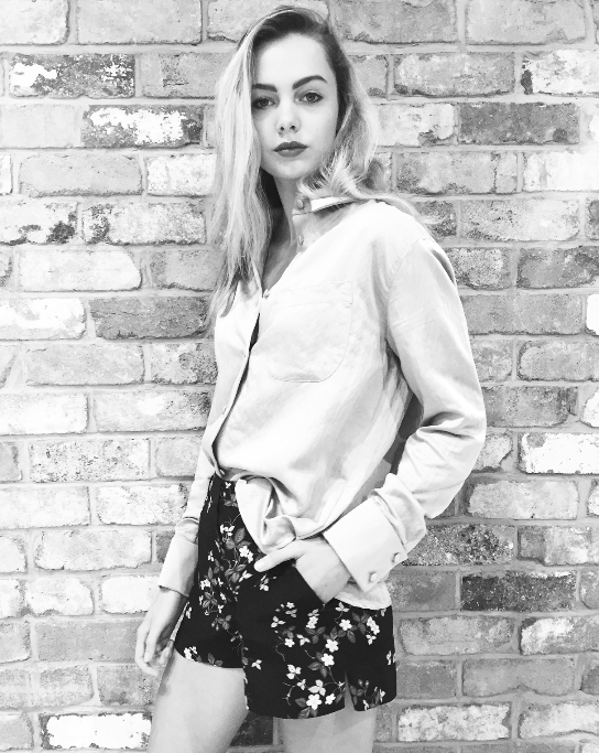 Topshop launch this morning for UNIQUE SS16. Model: Emma Boyd @ Clyne