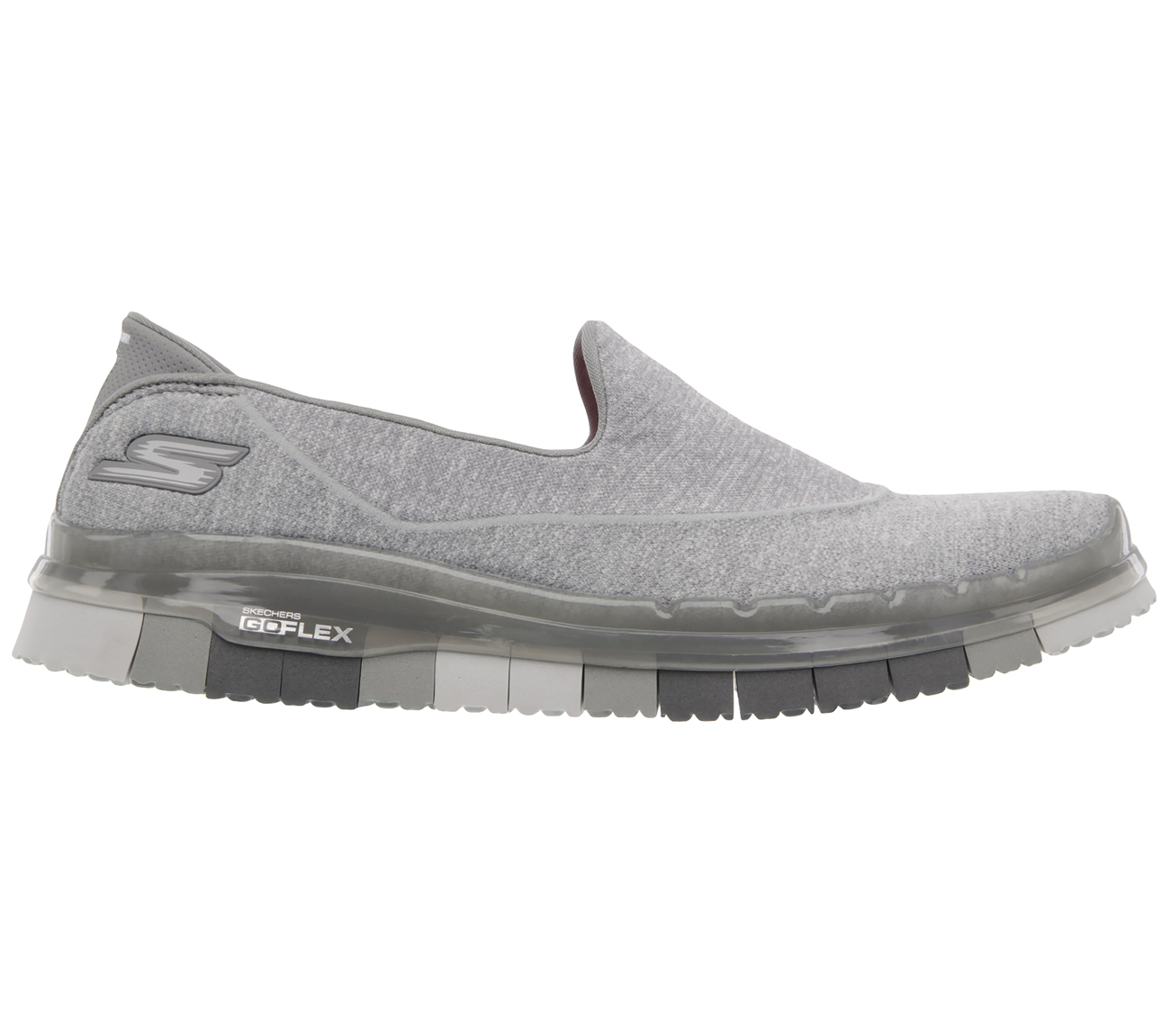 Skechers-Go Flex Slip On-GRY-$149.90