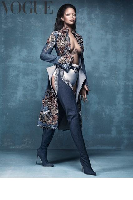Rihanna Covers April Vogue