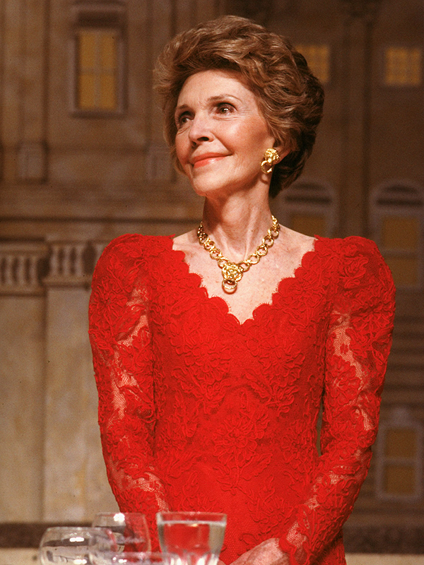 Nancy Reagan, an Influential and Stylish First Lady, who has died at age 94, will be remembered for bringing a sense of style to the White House not seen since Jackie Kennedy.