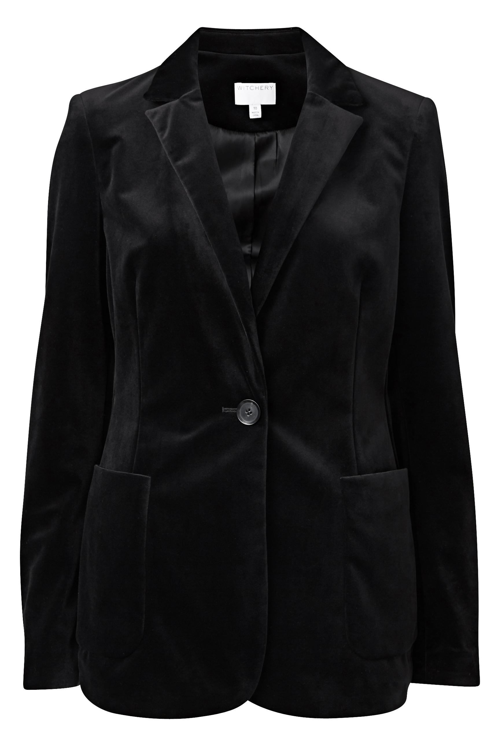 60193700_Witchery Velvet Blazer, RRP$279.90