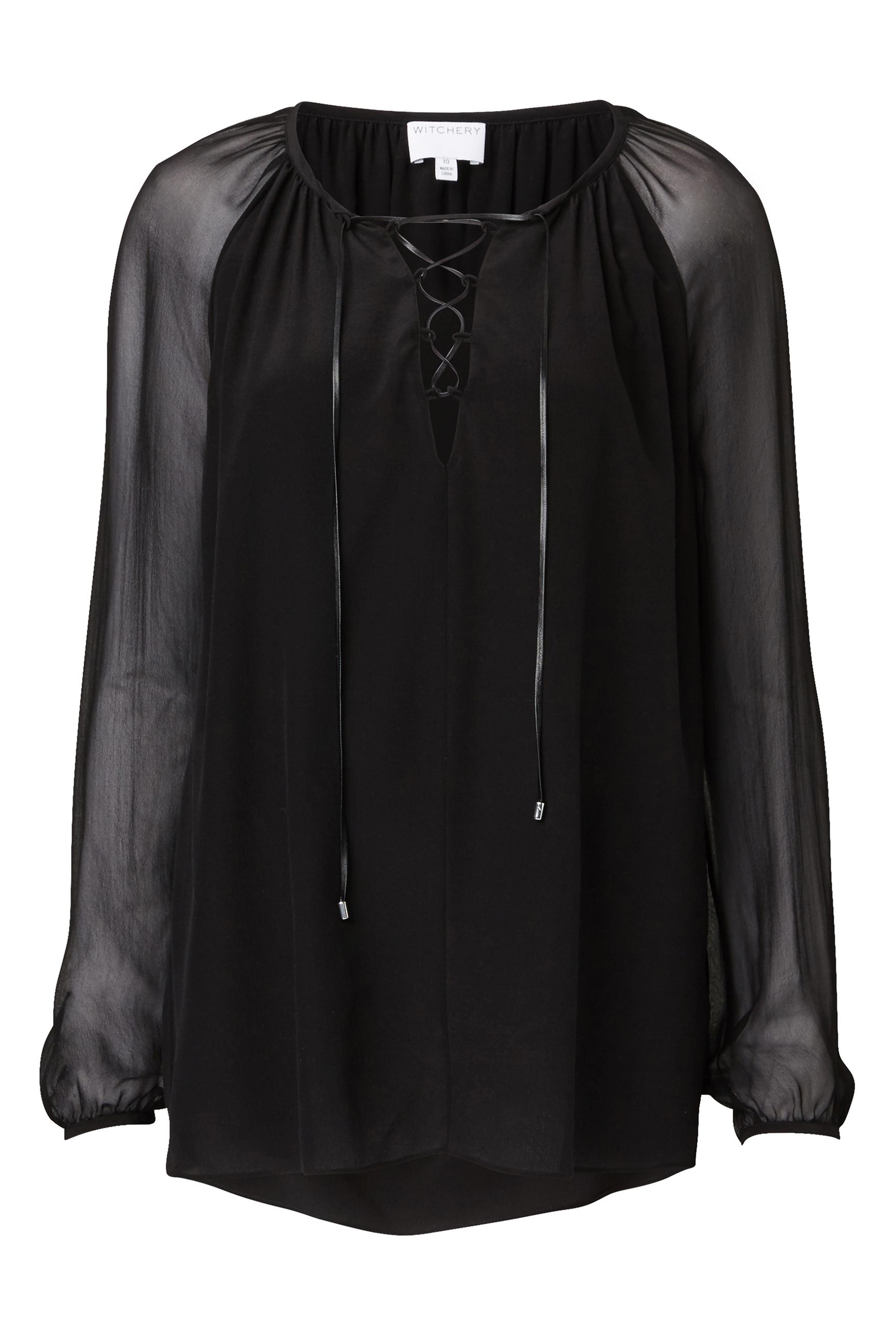 60193736_Witchery Trim Sheer Shirt, RRP$179.90