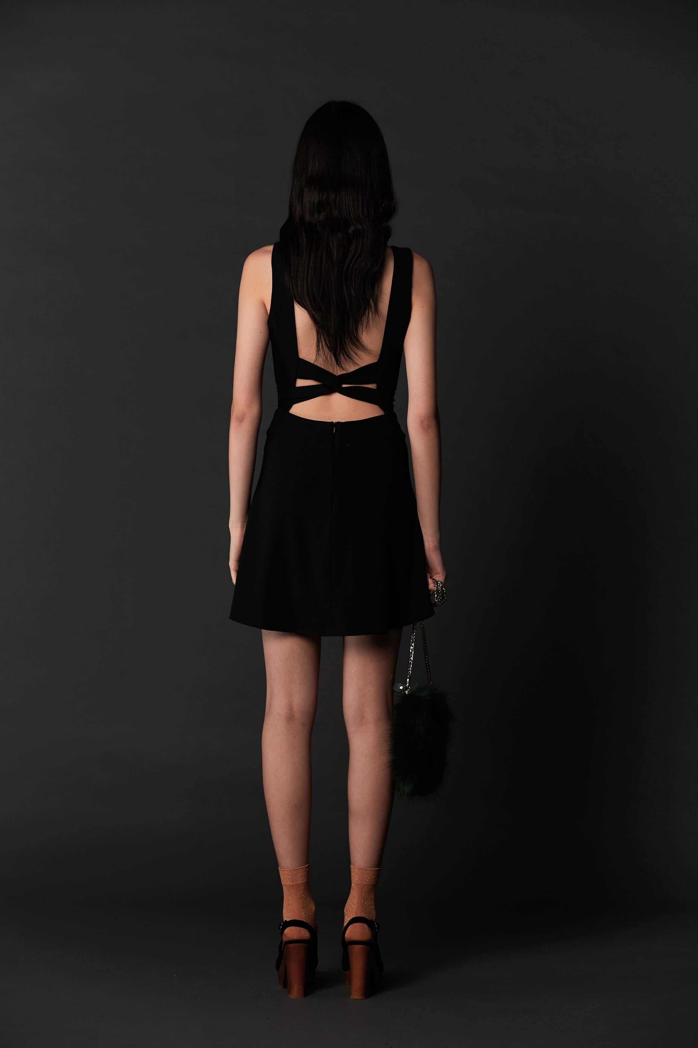 RUBY Nazad Dress (Back) & Halo Heel