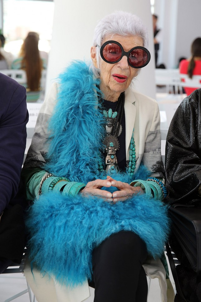 Style icon Iris Apfel announced she will design her own range of emojis.