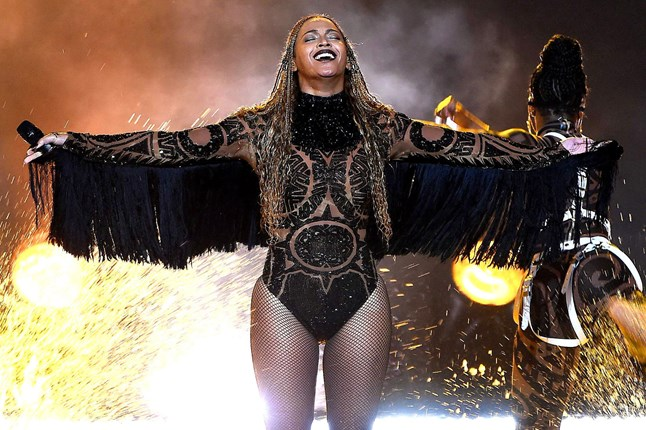 Beyonce made a surprise appearance at the 2016 BET Awards before being joined on stage by Kendrick Lamar for a duet.