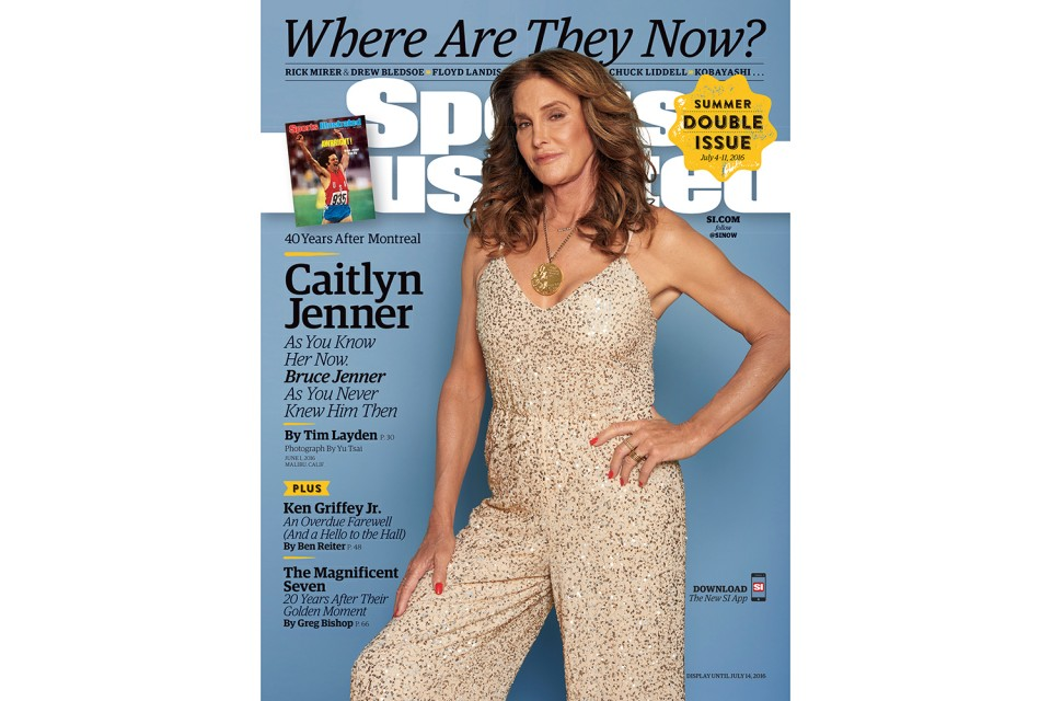 Caitlyn Jenner was pictured for the cover of Sports Illustrated.