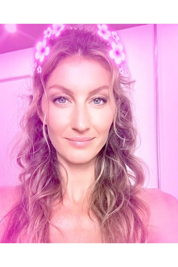 Gisele Bündchen joins Snapchat, sharing a rosy-hued picture of herself followed by footage from a boat ride on the Amazon River in her native Brazil.