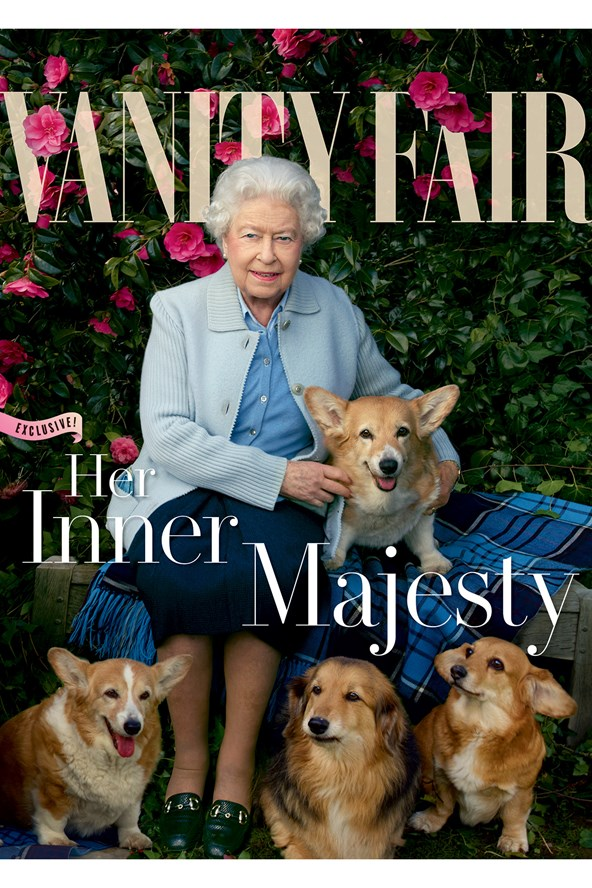 The Queen appears on Vanity Fair's July issue to mark her 90th birthday. Annie Leibovitz shot a series of new portraits of the monarch at her home at Windsor Castle.
