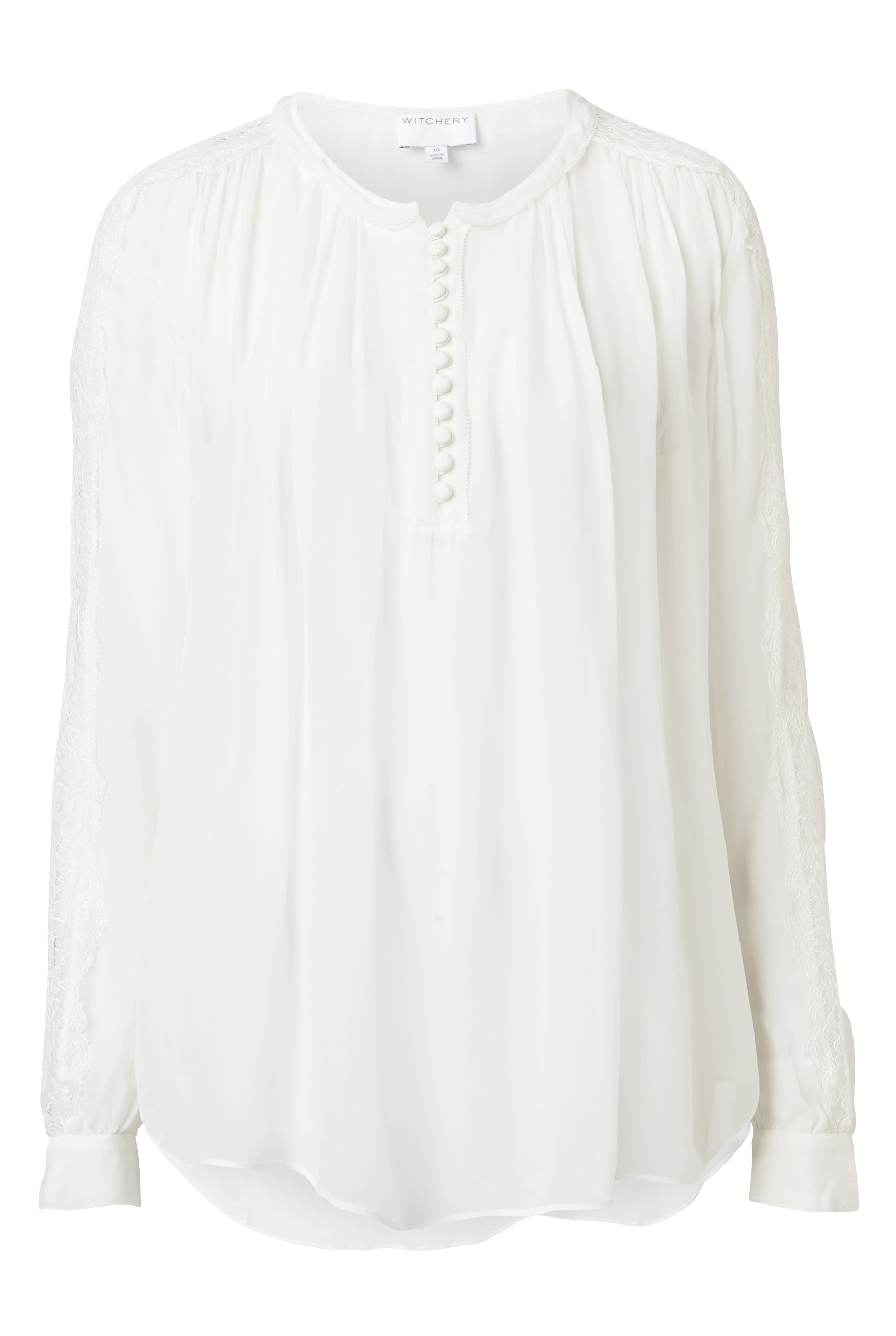 60196804_Witchery Lace Insert Top, RRP $149.90