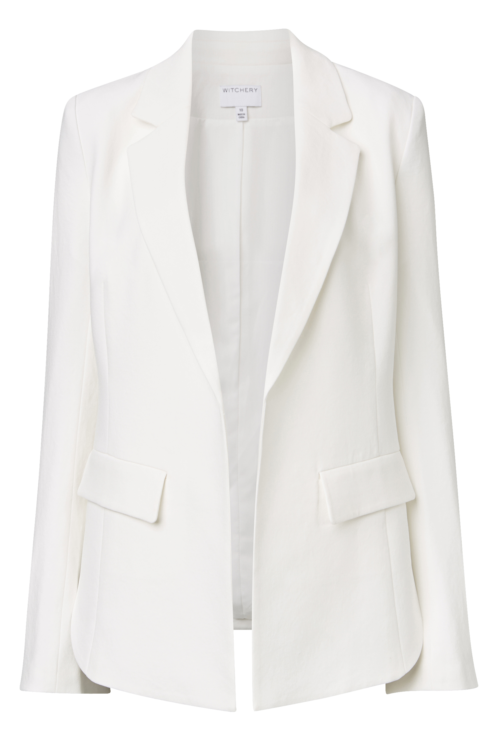 60197690_Witchery Split Sleeve Blazer, RRP $299.90