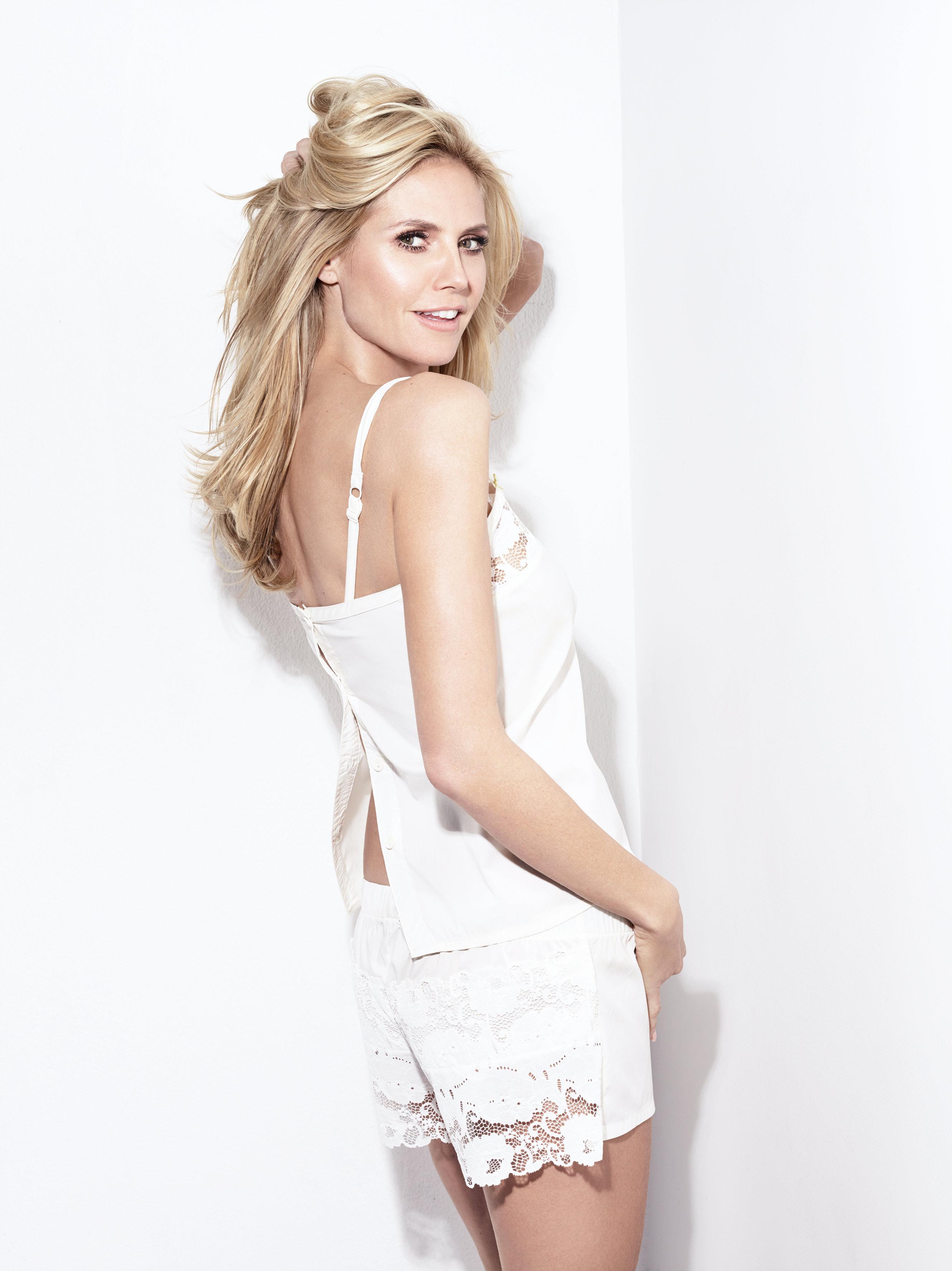 Heidi Klum launches her new season of lingerie called S2.16.