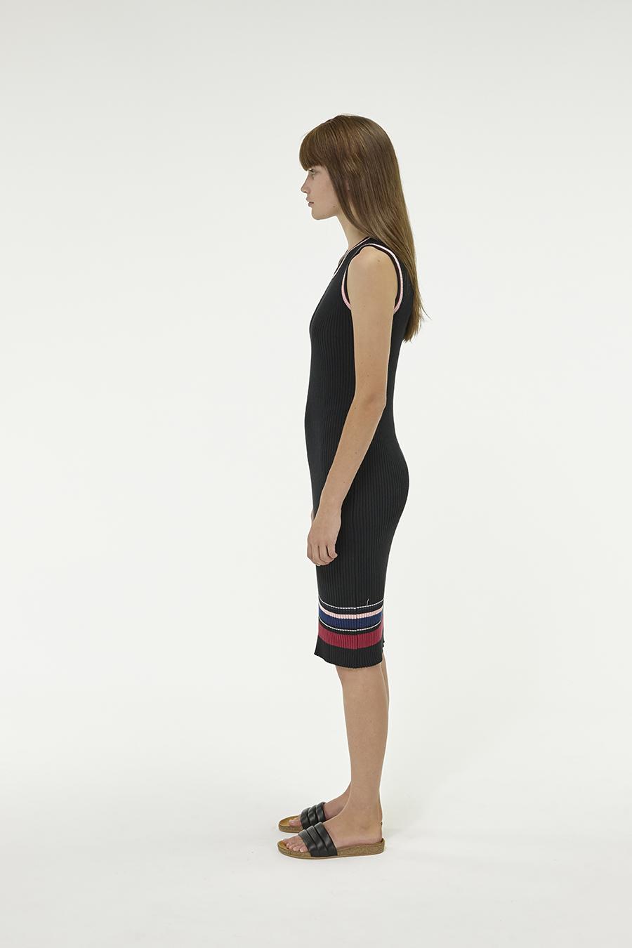 Huffer_Q3-16_W-Rogue-Rib-Dress_Black-02