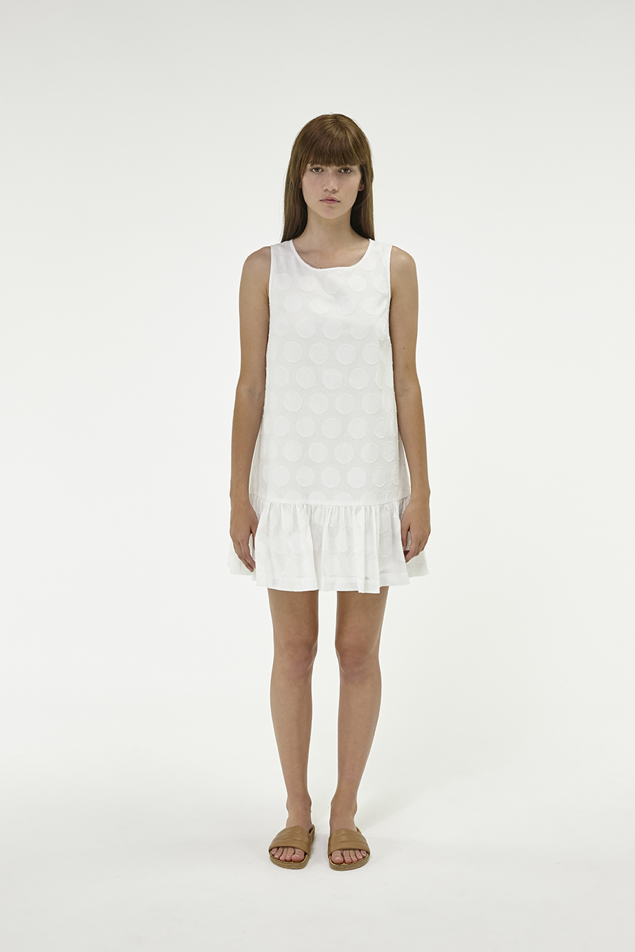 Huffer_Q3-16_W-Spot-Port-Dress_White-01