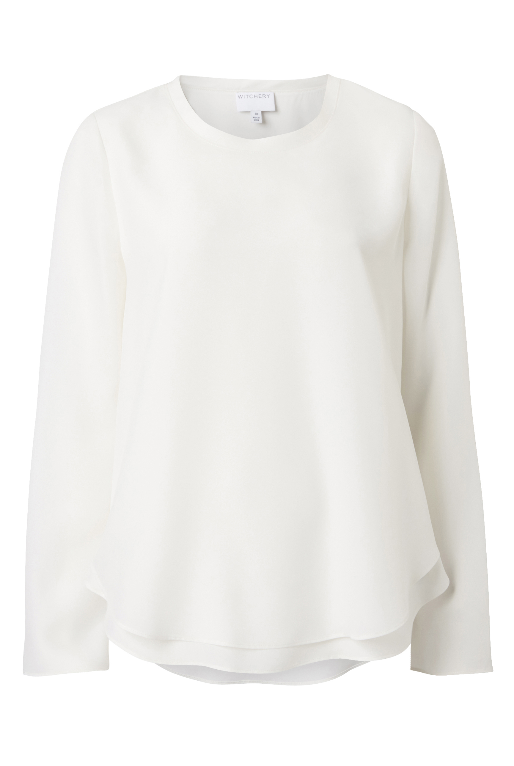 Witchery Layer Blouse, RRP $139.90
