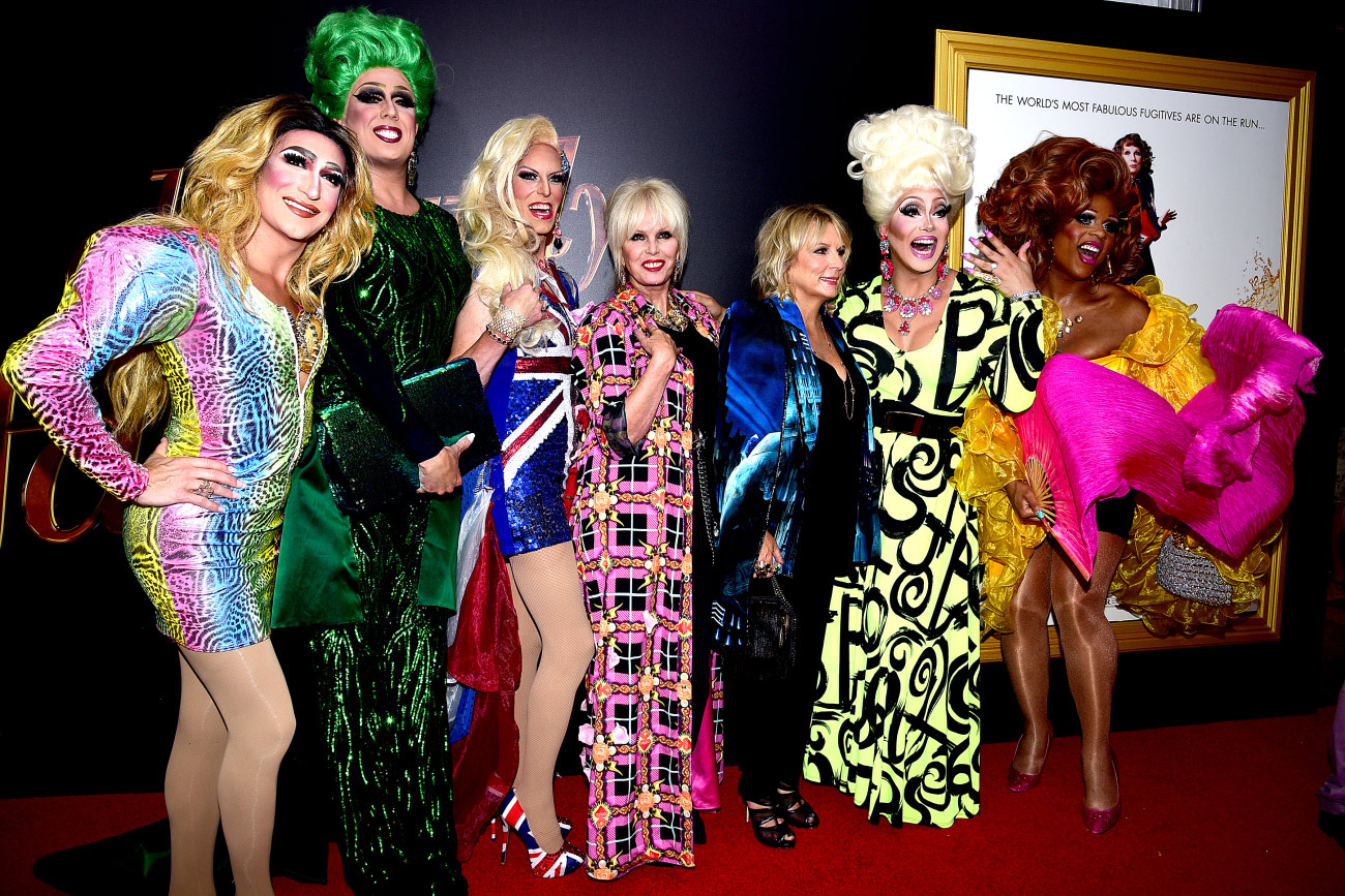 Absolutely Fabulous premieres in New York City.
