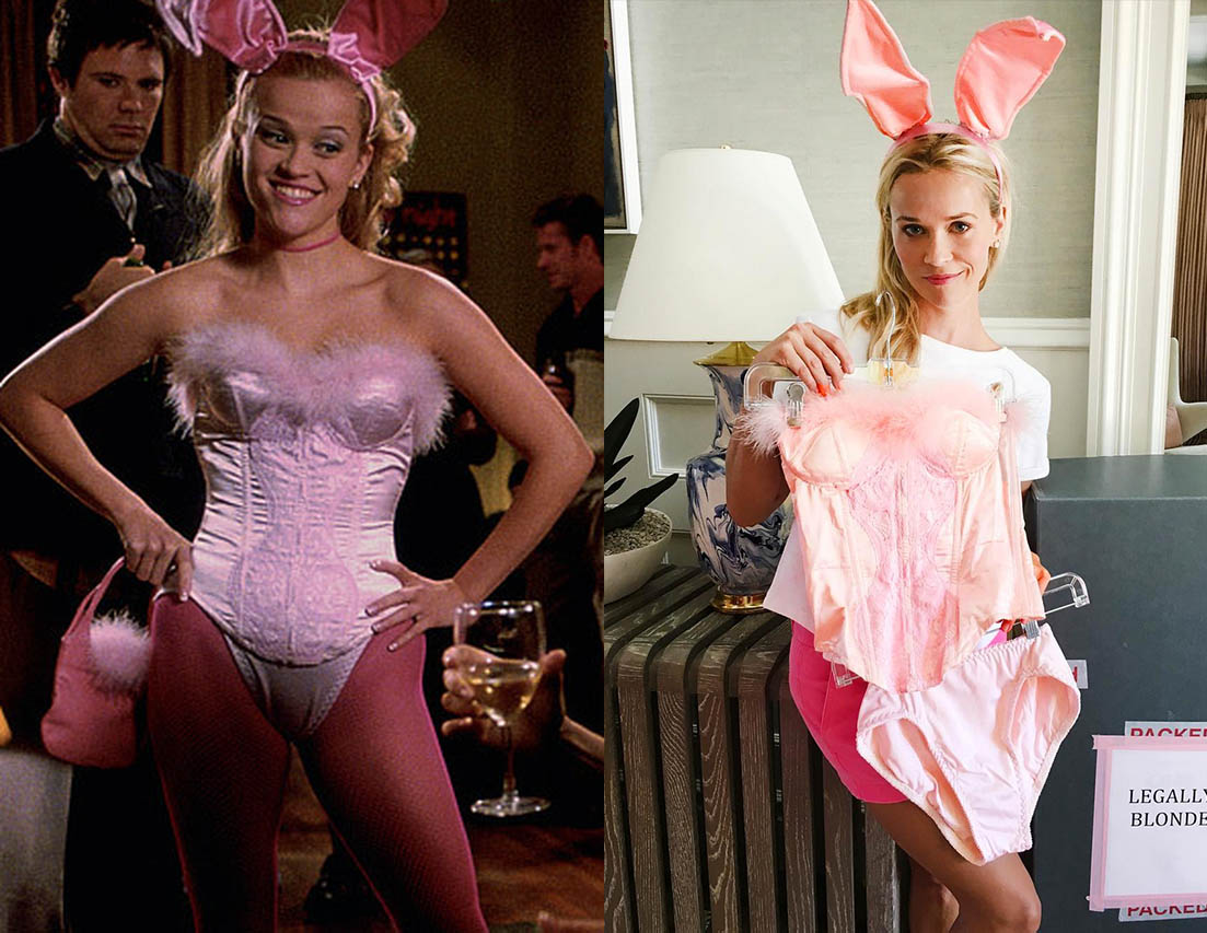 Reese Witherspoon celebrates the 15th anniversary of Legally Blonde today with the new hashtag #LegallyBlonde15.