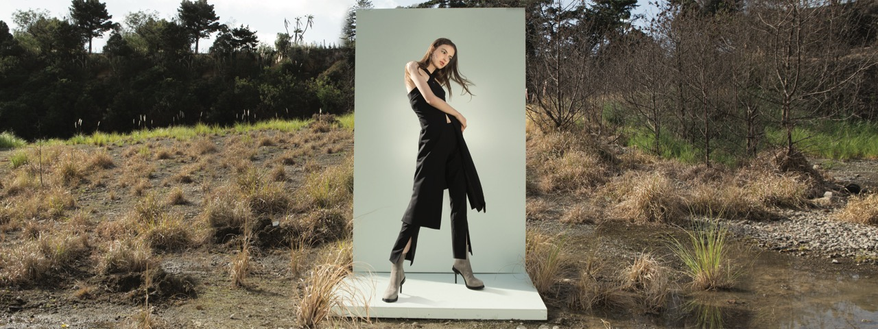 taylor-Departed-Tunic-Dress-Black-Parted-Pant-Black