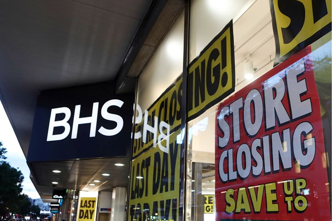The BHS store on Oxford street closed its doors for the last time.