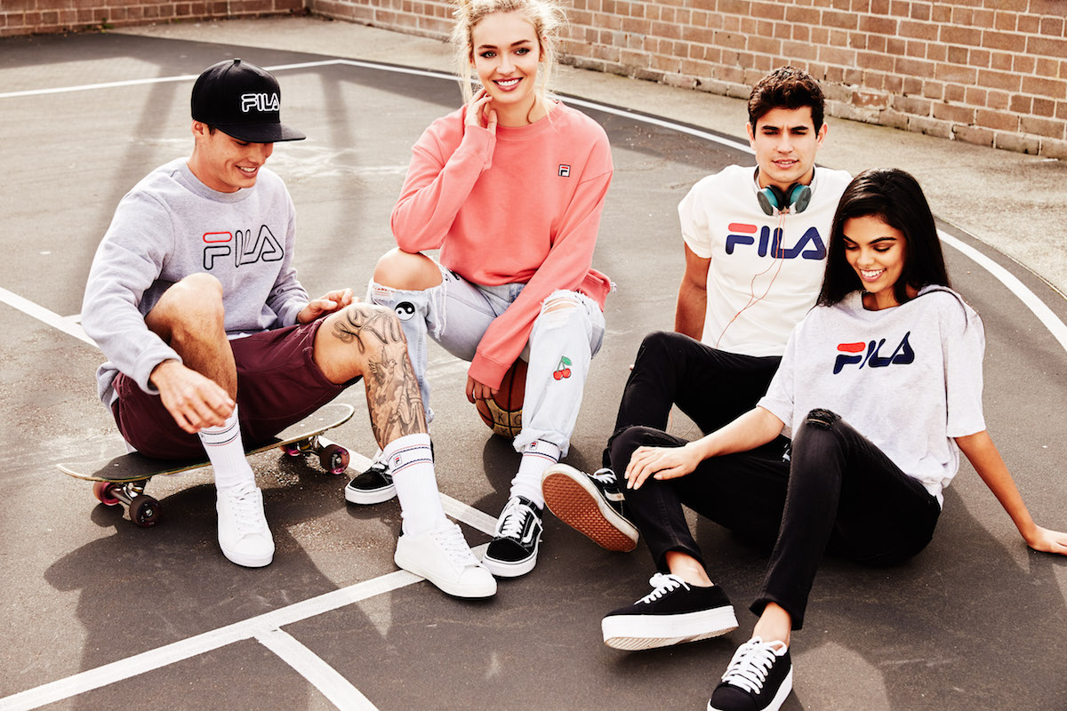 6d3c50b9a56b Global youth lifestyle brand factorie has announced an exclusive  collaboration with Fila