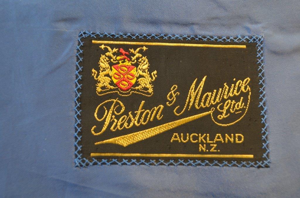 Hand sewn label