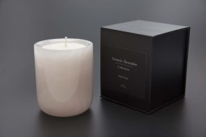RARE PINK ONYX CANDLE NOW AVAILABLE IN NZ