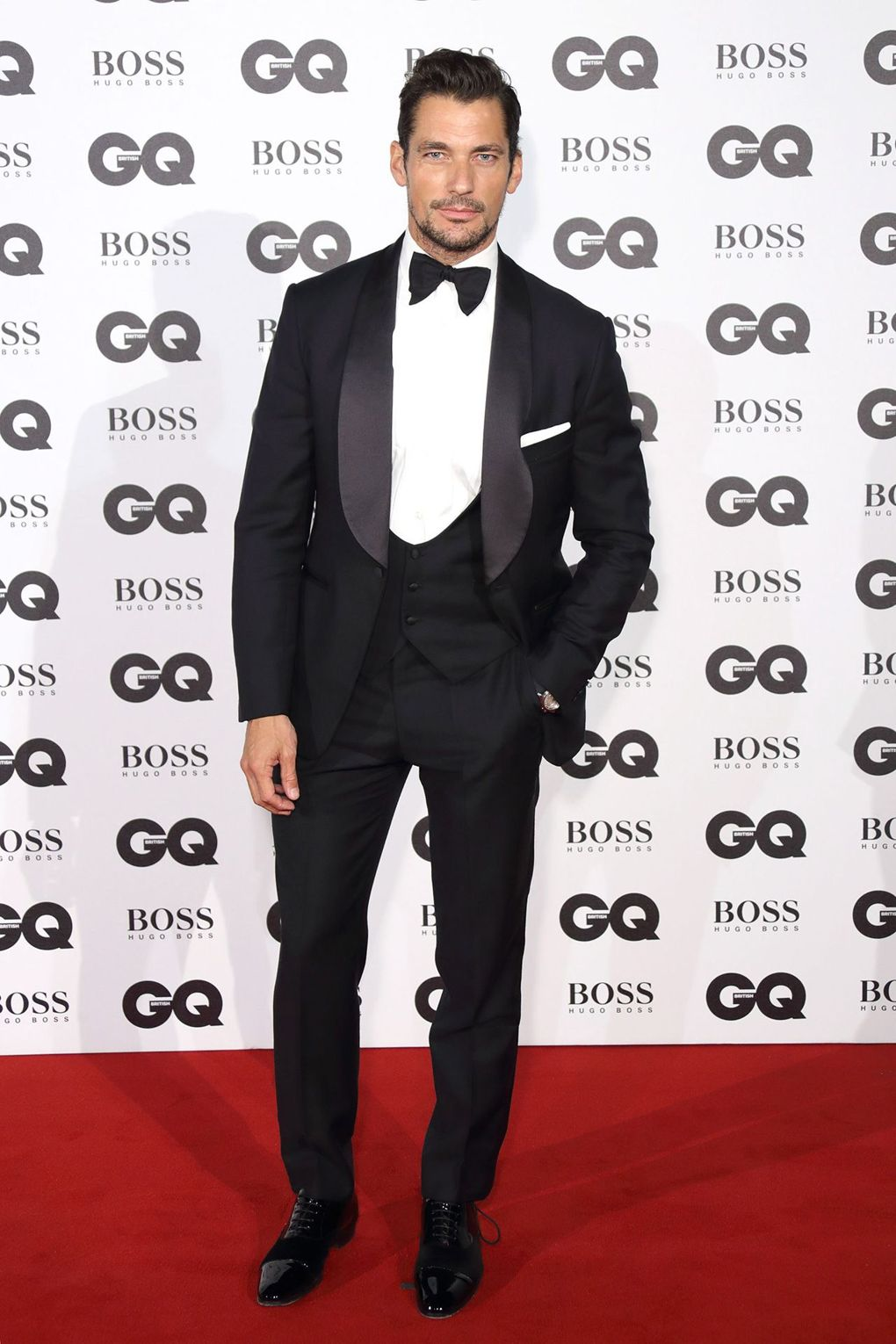 David Gandy at the GQ Men Of The Year Awards.