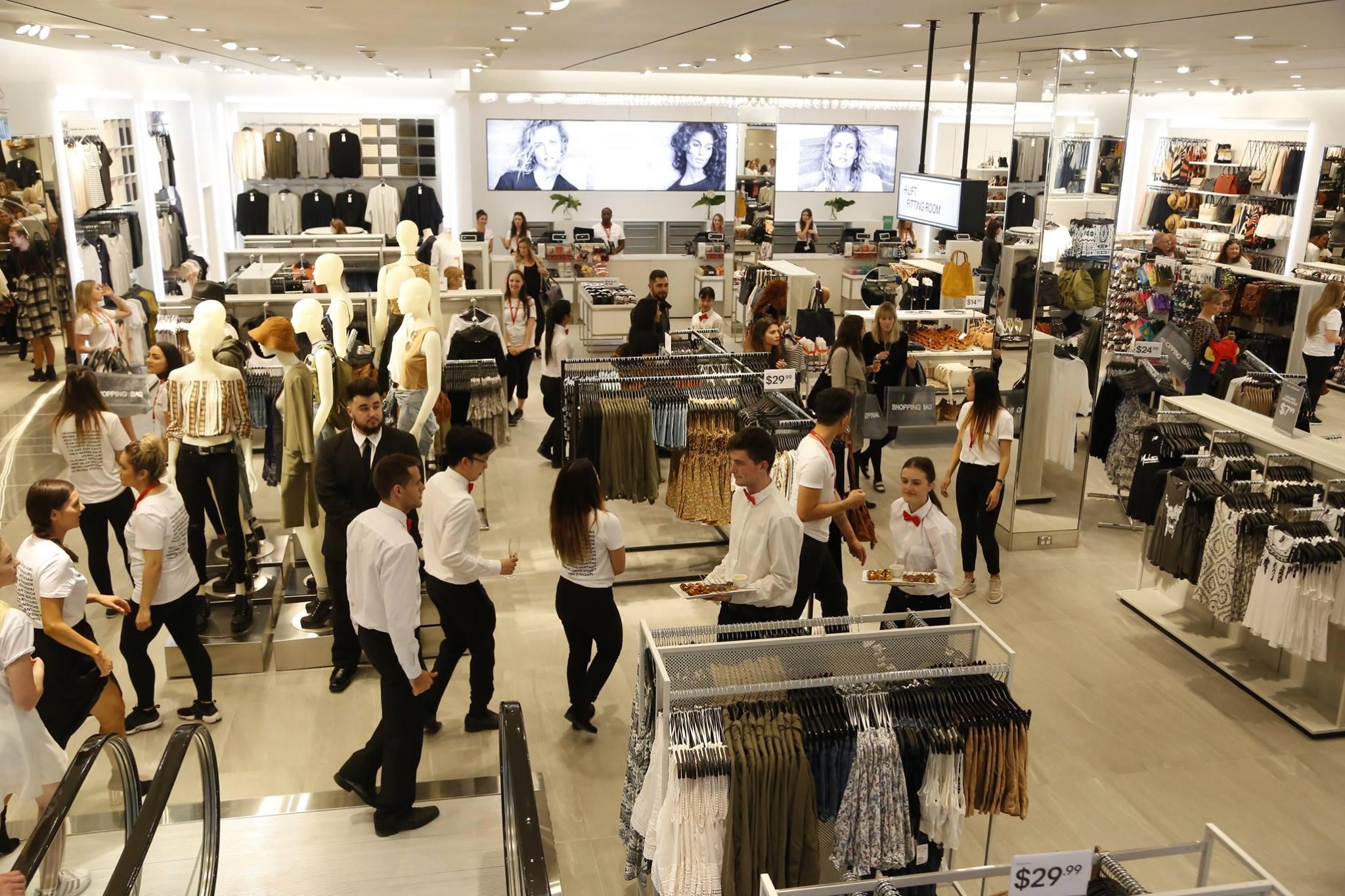 Inside H&M