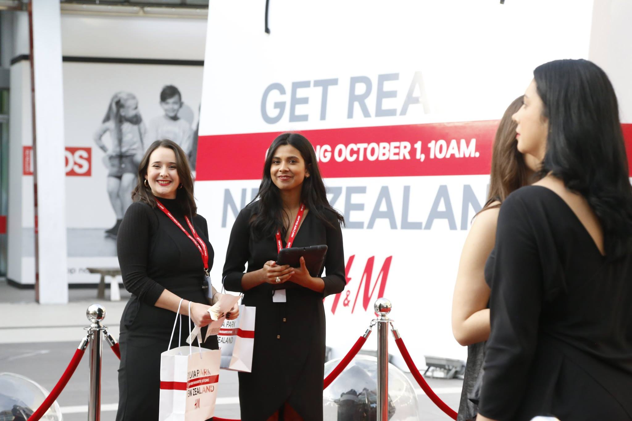 H&M opened it's doors to the public on Saturday at Sylvia Park.