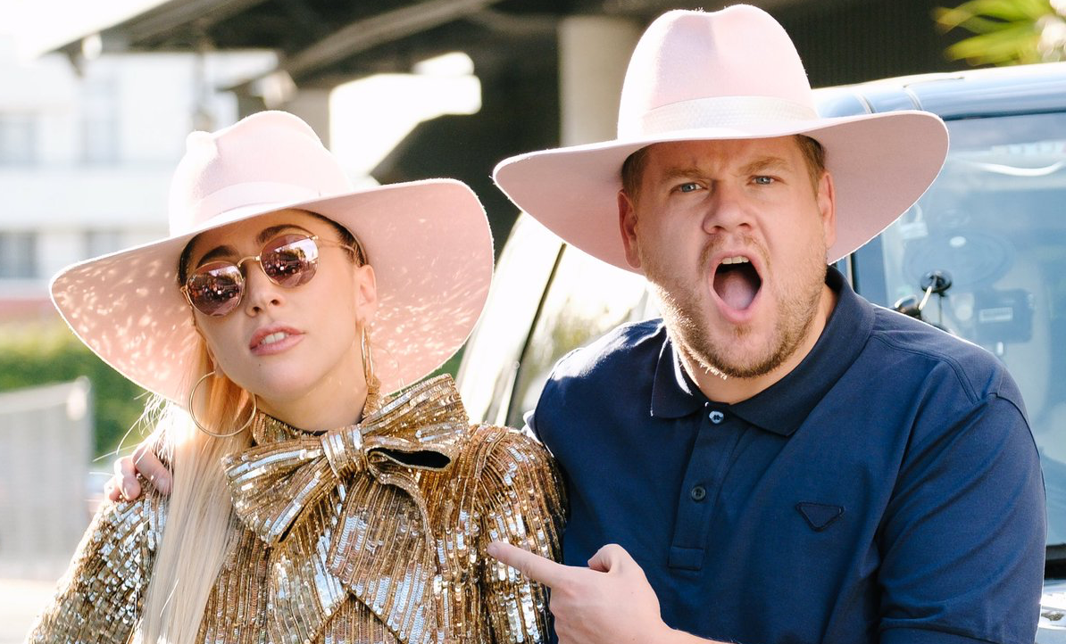 LET'S GET INSIDE YOUR CAR // Lady Gaga took front seat for this week's episode of Carpool Karaoke with James Corden.
