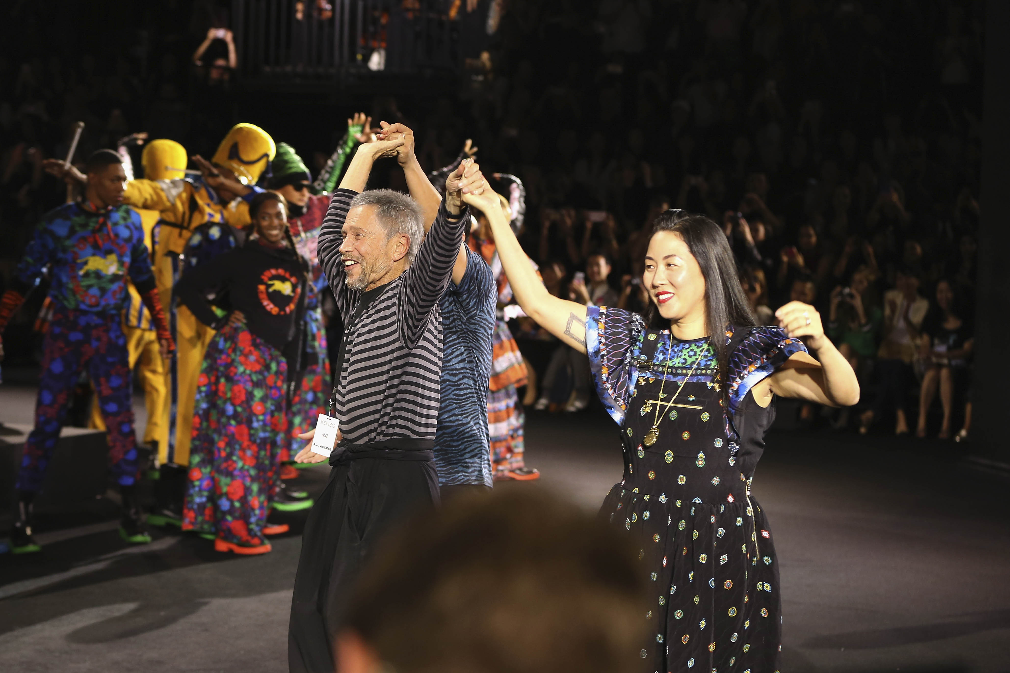 kenzo-x-hm-nyc-event-jean-paul-goude-carol-lim-0104