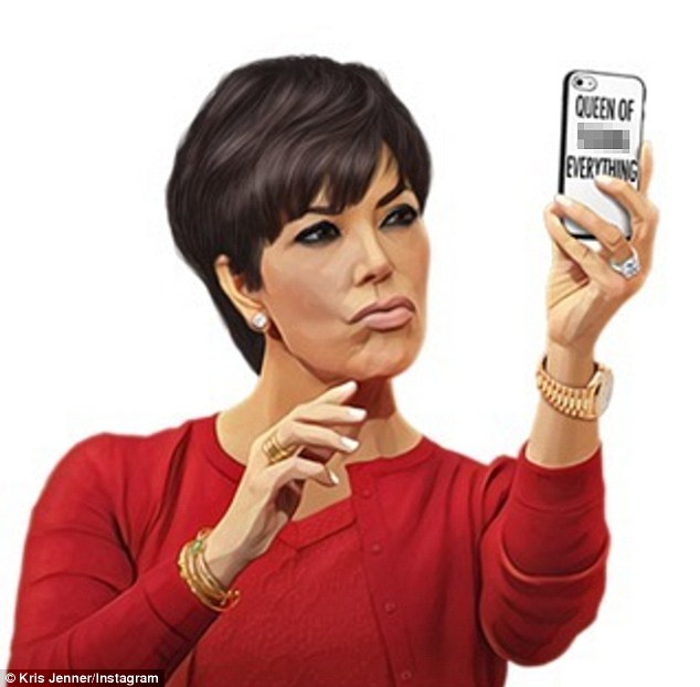 Kris Jenner's 61st birthday was marked by a flood of social media tributes from her friends and family.  The only person to stay silent was Kim Kardashian West, who has been missing from social media since her robbery in Paris.  Kardashian West did mark the occasion by releasing a special KIMOJI on her app.