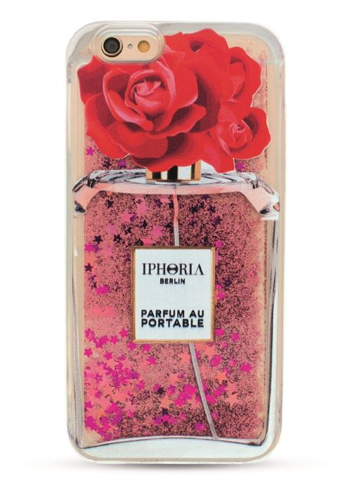 Iphoria 7 - Liquid Case Parfum Au Portable Red Rose Case - iPhone 6