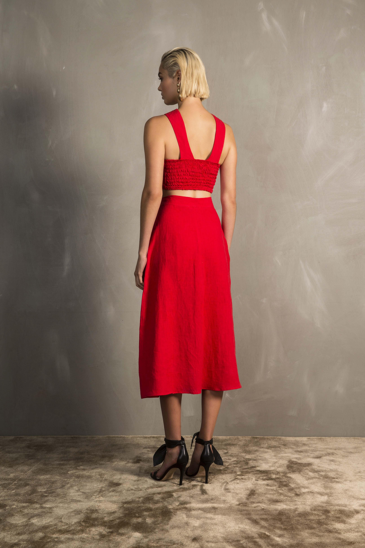 RUBY Amarena Crop Top & Amarena Skirt_Back