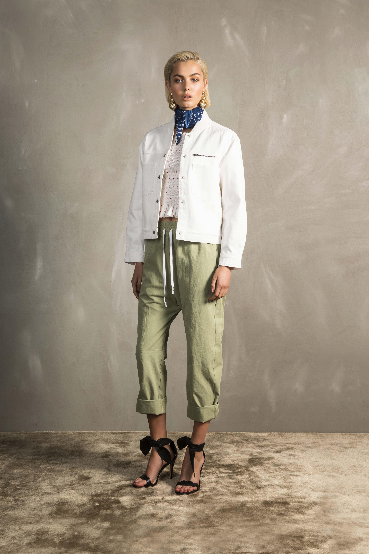 RUBY Frances Bomber, Bambi Shirred T-Shirt, Ragazzo Pant & Vita Scarf