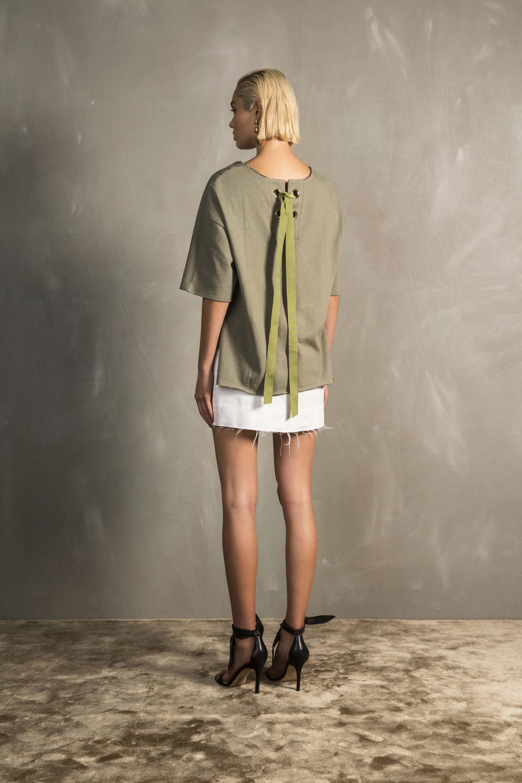 RUBY Gogo T-Shirt & Frances Miniskirt_Back