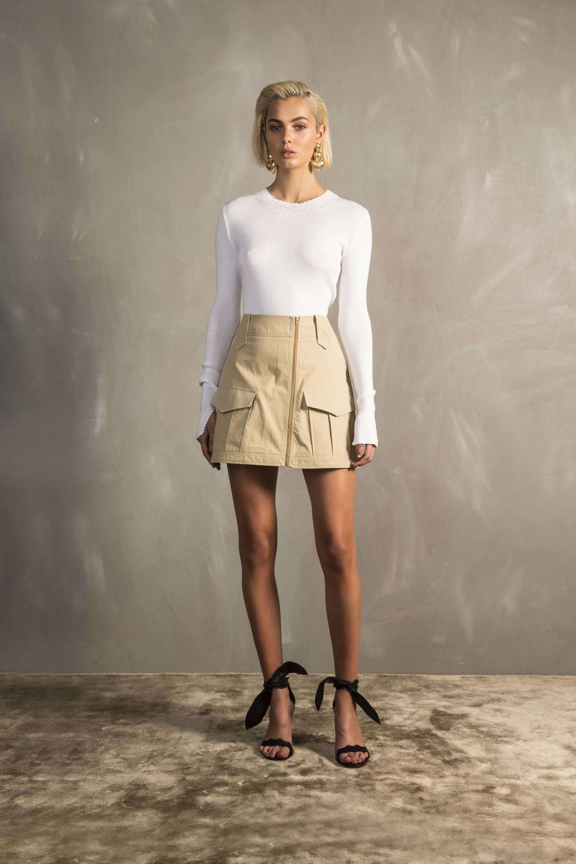 RUBY Raffaela Crochet Longsleeve & Ragazzo Miniskirt
