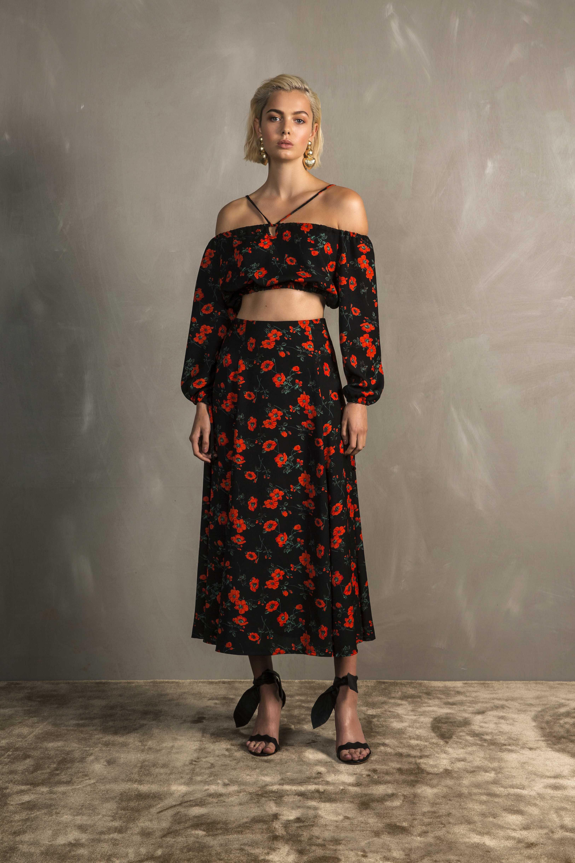 RUBY Rosa Crop Top & Rosa Skirt