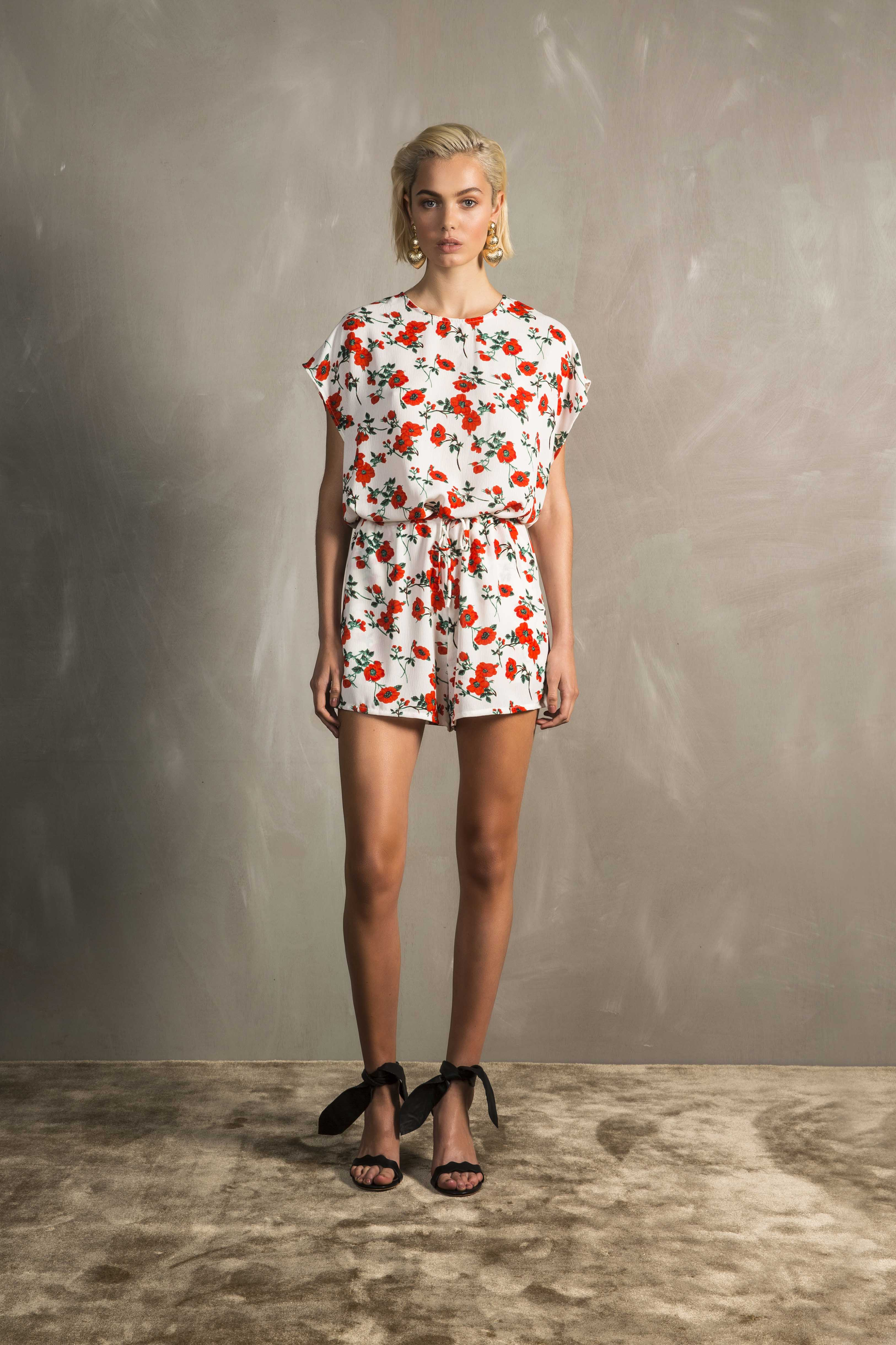 RUBY Rosa Playsuit_White