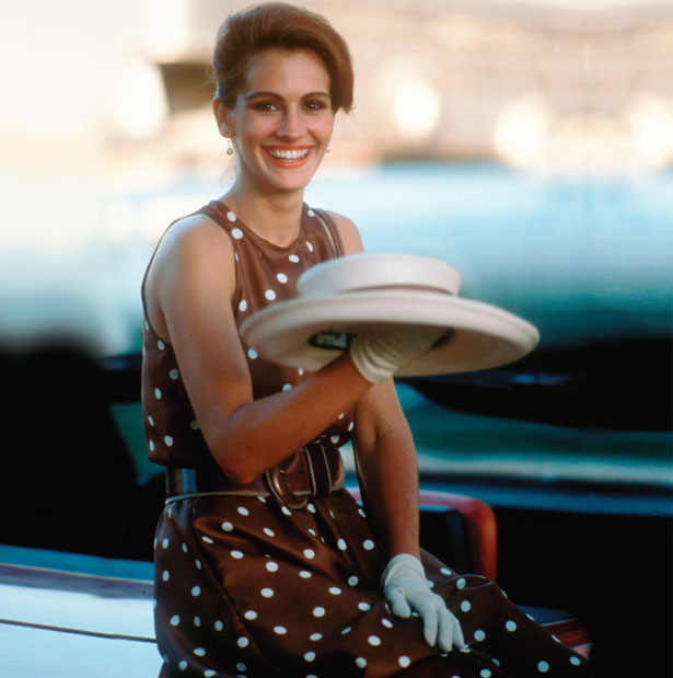 The most iconic polo look is undoubtedly Julia Roberts in Pretty Woman.  When in doubt, throw on a wide-brimmed hat and a midi dress, and flirt with Richard Gere...