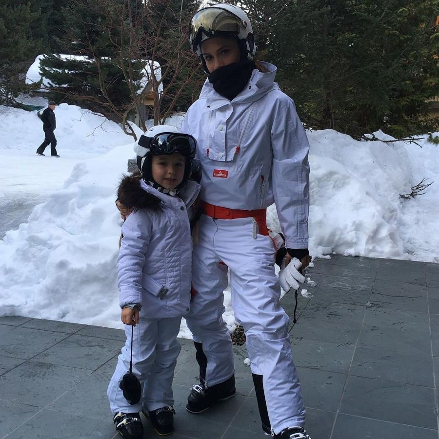 The Beckhams took to the slopes for a family holiday, which was extensively documented on all their Instagram accounts.