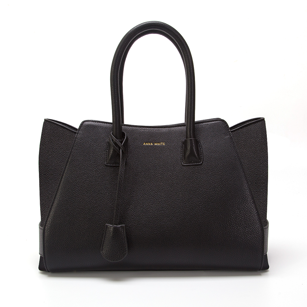 ANNA WHITE AW1 Tote in Noir