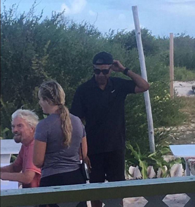 PSA:  The only way to wear a cap is backwards.  Barack and Michelle Obama have been holidaying with Richard Branson and getting some much deserved R&R.  However, following the release of this snap, the internet has gone wild for Barack in his backwards baseball cap.  Turn yours around today!