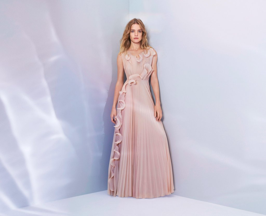H&M have unveiled their latest Conscious Exclusive collection, which features this beautiful dress constructed of waste plastic bottles collected from the shoreline.