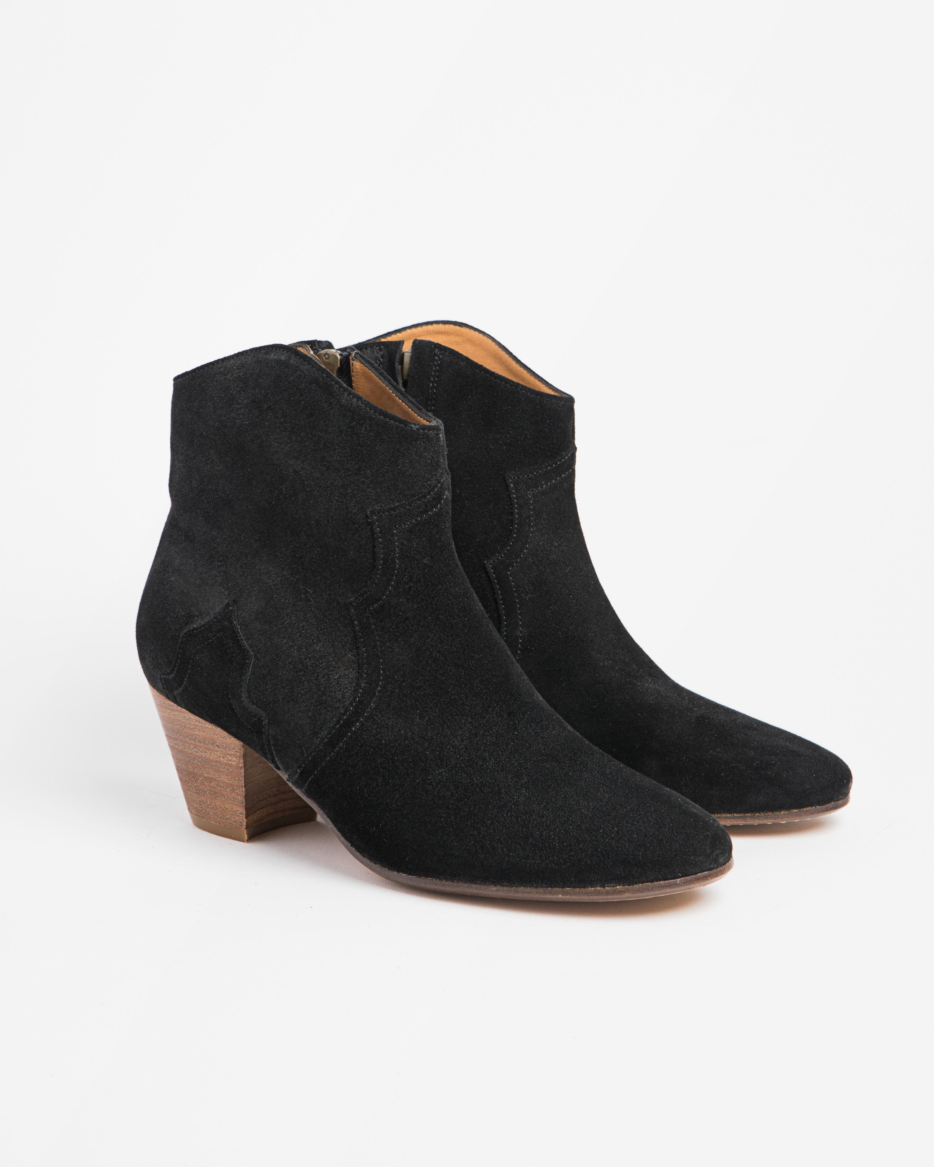 Isabel Marant Etoile 3 - Dicker Boot - Black