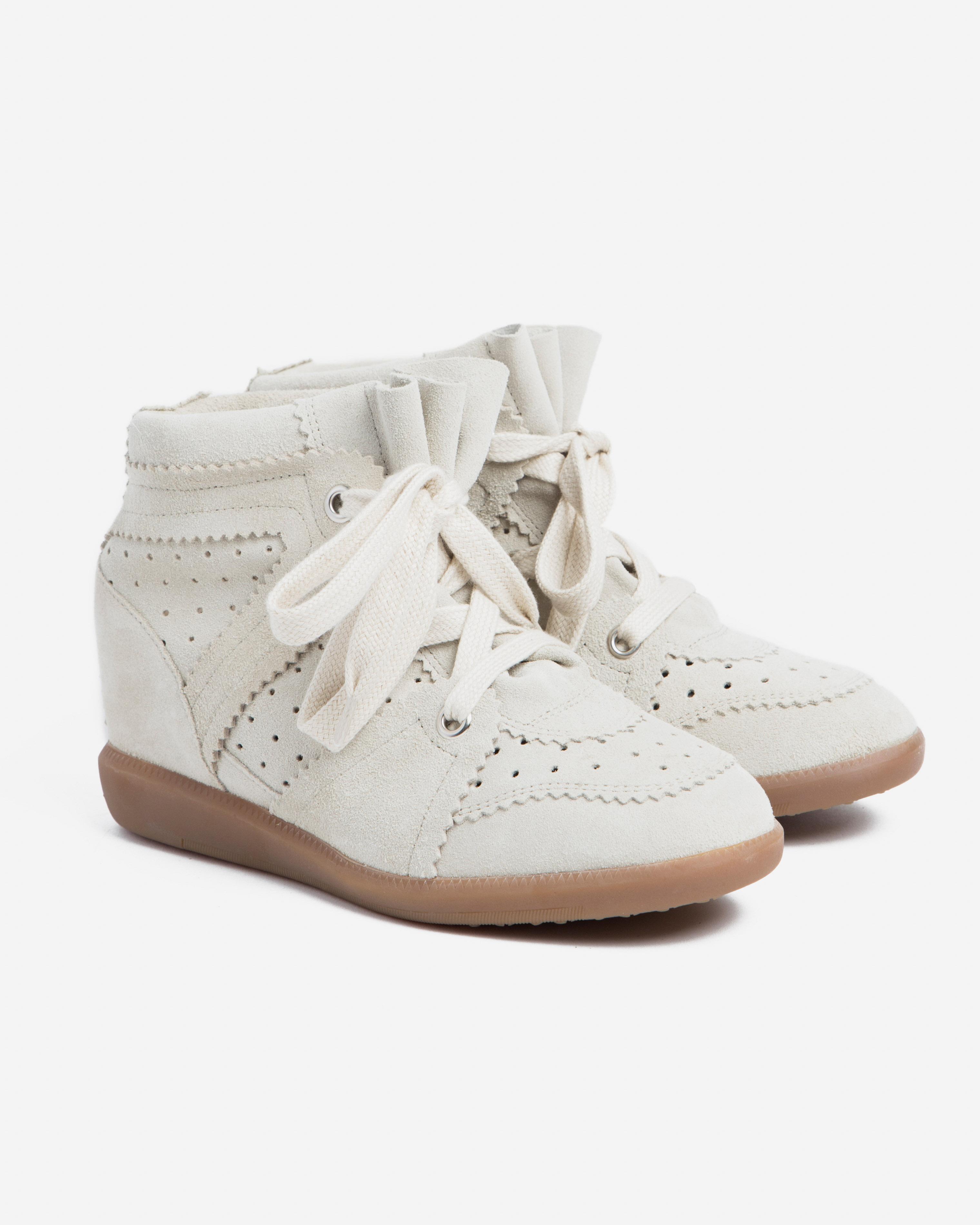 Isabel Marant Etoile 5 - Bobby Sneaker - Chalk
