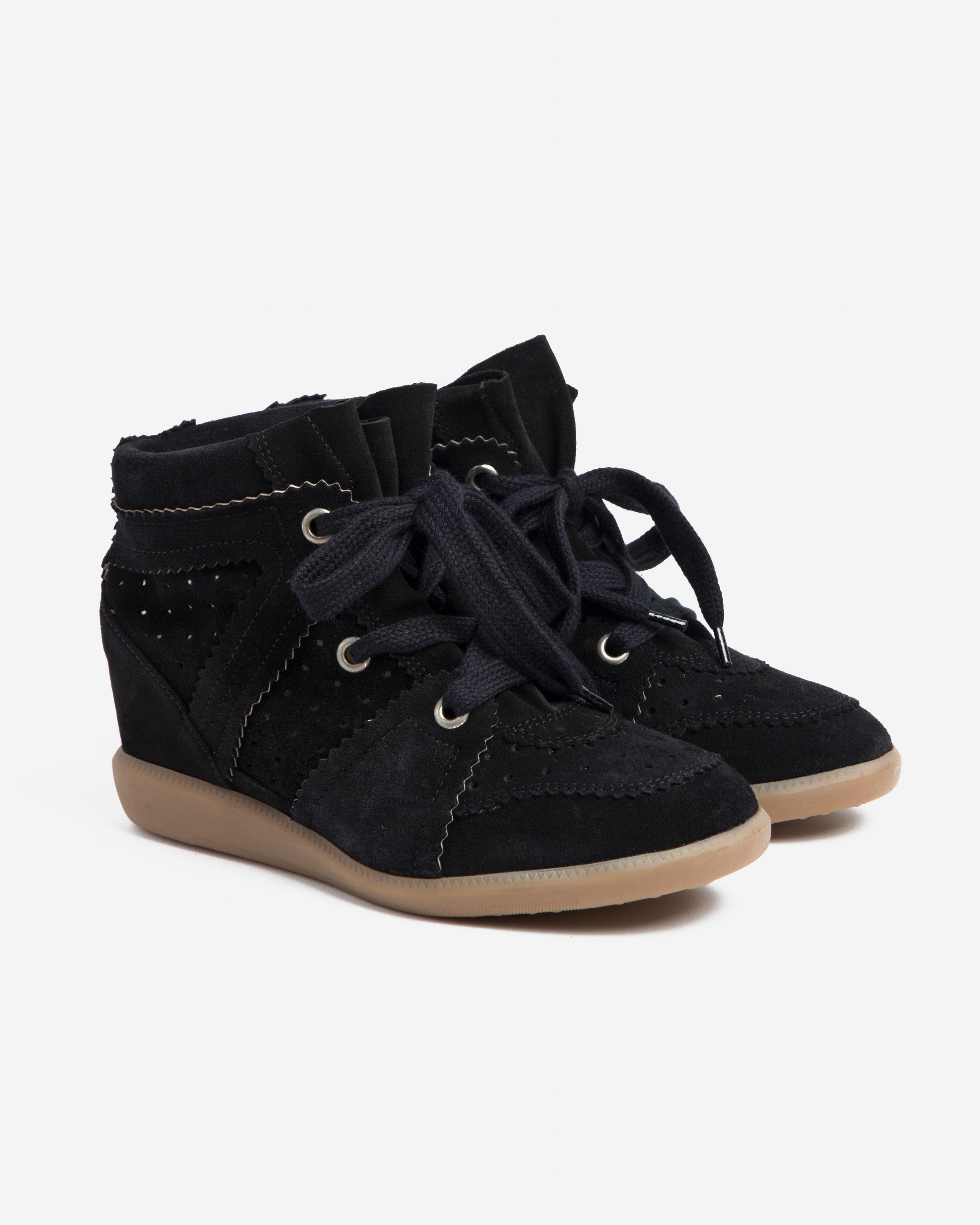 Isabel Marant Etoile 7 - Bobby Sneaker - Faded Black