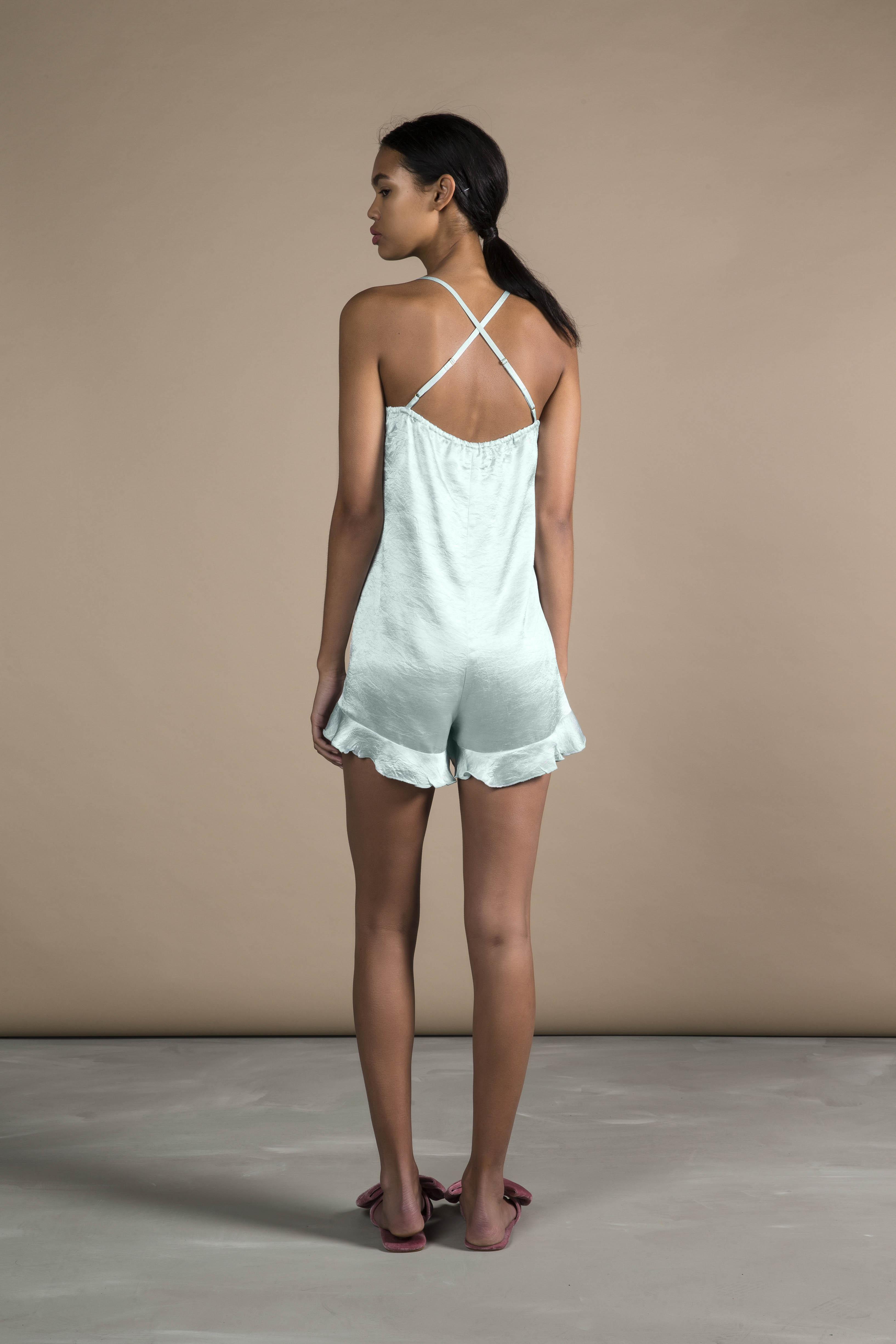 RUBY Lucia Ruffle Playsuit_Back