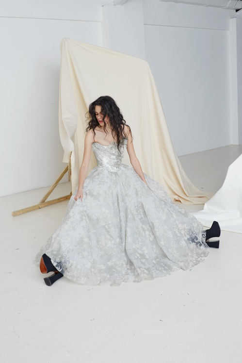 Vivienne Westwood has launched a permanent bridal collection, featuring selected gowns from her past shows.