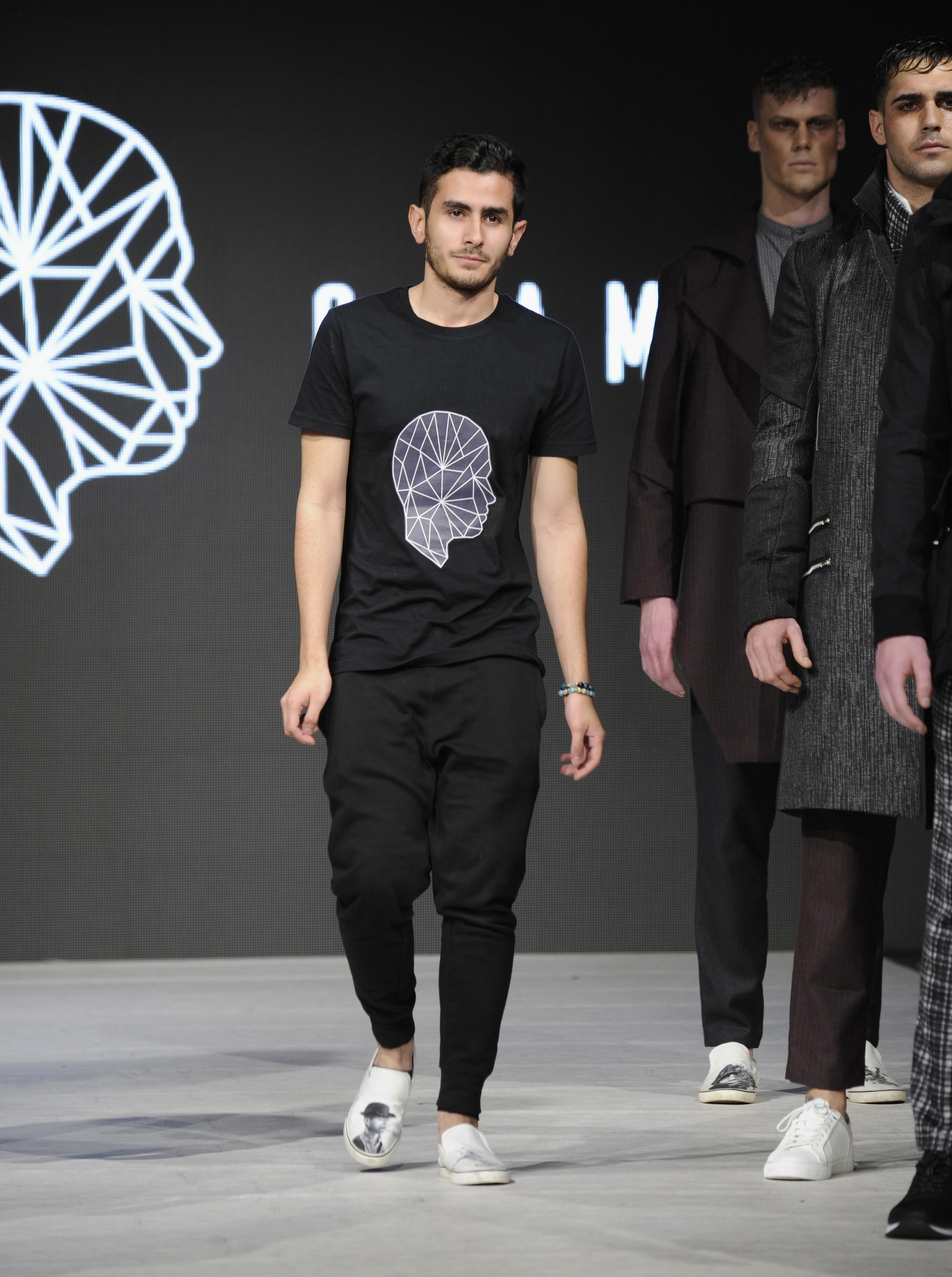 VANCOUVER, BC - MARCH 23:  Designer Stefano Giammattei walks the runway at Vancouver Fashion Week Fall/Winter 2017 at Chinese Cultural Centre of Greater Vancouver on March 23, 2017 in Vancouver, Canada.  (Photo by Arun Nevader/WireImage) *** Local Caption *** Stefano Giammattei