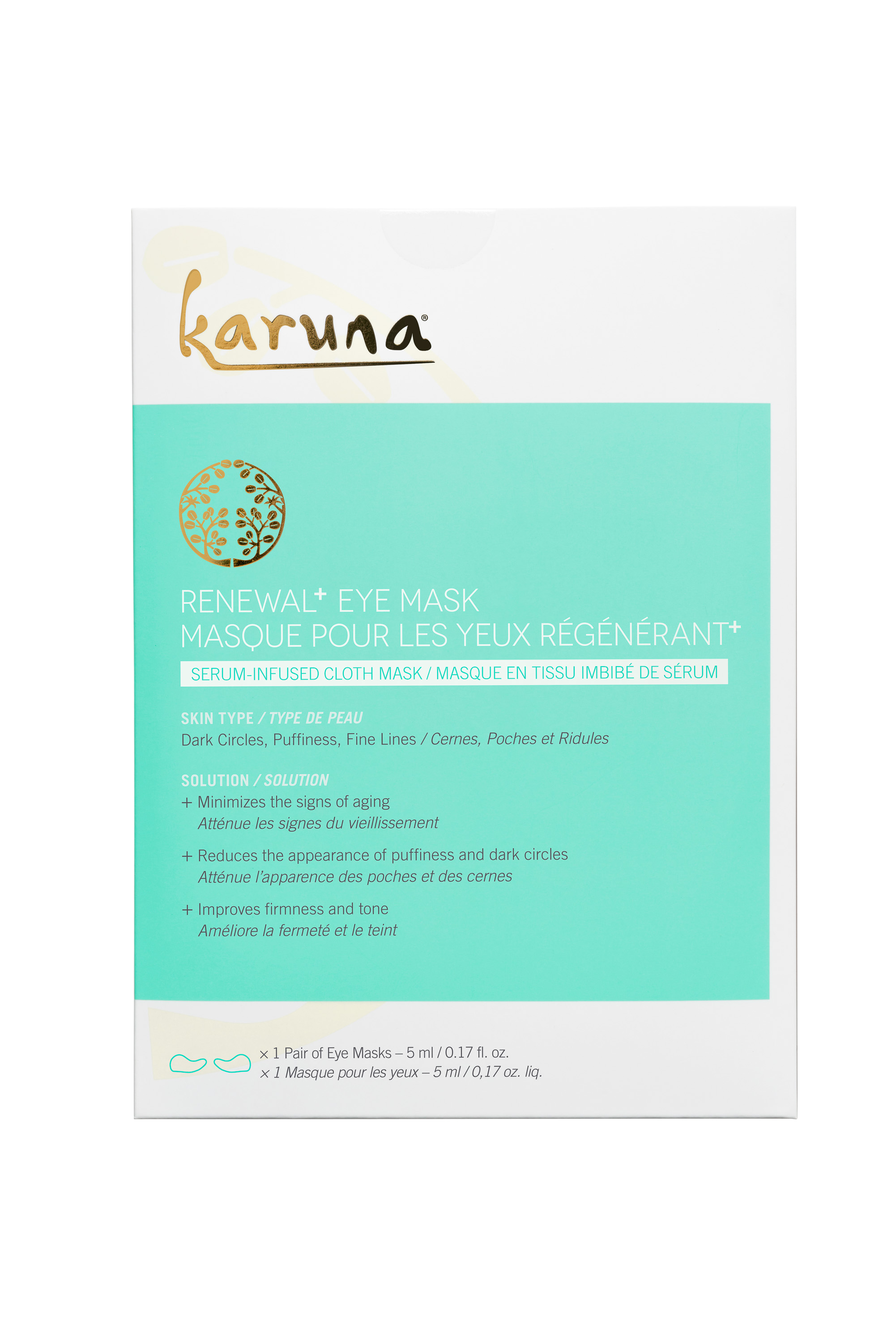Karuna Renewal Eye Mask (Mecca Maxima)